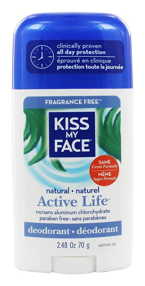 Kiss My Face Over item handling ☆ Active Enzyme cheap Stick Free Fragrance 2.4 - Deodorant