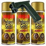 Felgengold 3 x 400 ml Plus Haltegriff