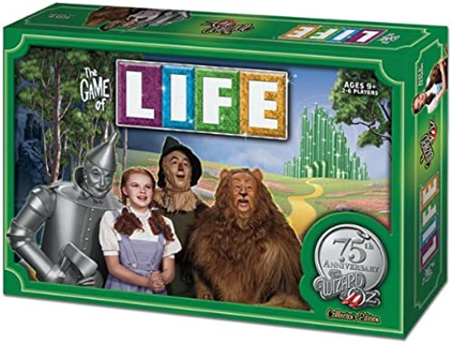 Venta al por mayor barato y de alta calidad. The Game Of Life    Wizard Of Oz 75Th Anniversary Collectors Board Game  precios bajos