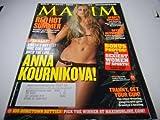 """Maxim Magazine """"Anna Kournikova"""" """"john mcenroe"""" August 2004"""