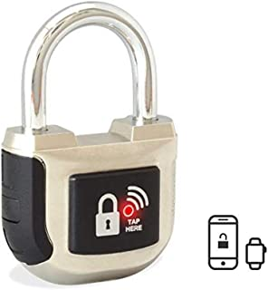 eGeeTouch Smart Padlock Indoor 2nd Gen with Patented Dual Bluetooth+NFC (Single)