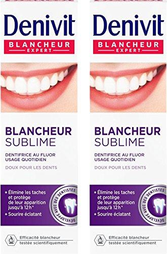Denivit - Pasta de dientes - White and Shine - Tubo de 50 ml - Lote de 2