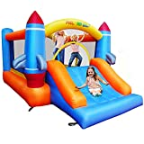Meland Bounce House for Kids - Inflatable Bouncer with Slide Plus Heavy Duty Air Blower, Jump Castle for Kids Toddlers Ages 3-10 Years, Family Bouncy Playhouse for Indoor Outdoor Backyard Party