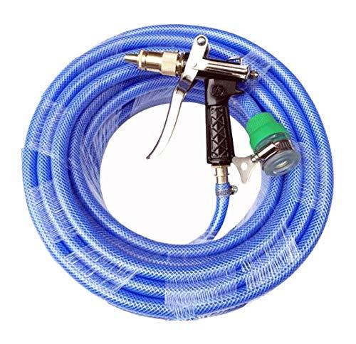 YLYP Manguera de jardín con Juego de conexión rápida y Conector Boquilla de Alta presión, Adaptador Ajustable para Grifo y arandela de Goma (Color : 20m): Amazon.es: Deportes y aire libre