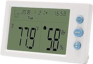 YIN YIN, Termo-higrómetro, Instrumento de medición de Alta precisión for la Gran Pantalla de termohigrómetro Digital con s...
