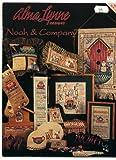 Alma Lynn Designs Noah & Company Counted Cross Stitch Pattern Booklet ALX-120