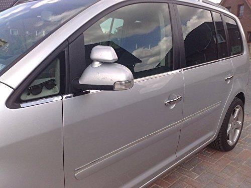 Opel Zafira B listones de cromo Ventana 8piezas–Acero inoxidable