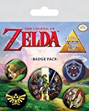 Pyramid International The Legend of Zelda Badge, Multicolor, 10 x 12,5 x 1,3 cm