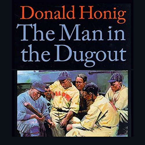 The Man in the Dugout audiobook cover art