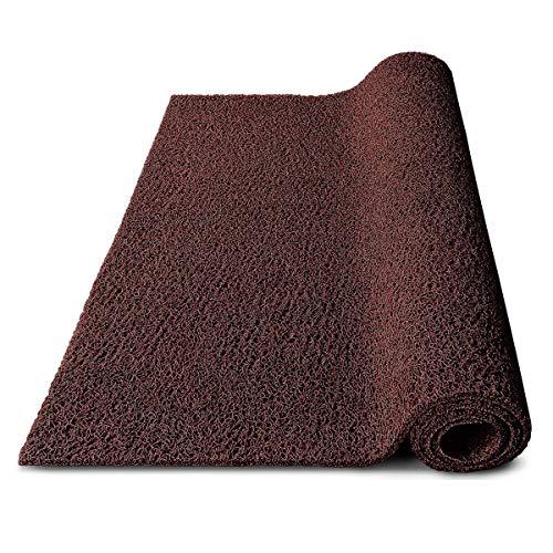 Felpudo para entrada, zonas húmedas y puestos de trabajo, impermeable y resistente a la intemperie, en muchos colores y tamaños, apto para pies descalzos (120 x 1200...