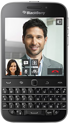 "BlackBerry Classic - Smartphone de 3.5"" (Qualcomm MSM 8960 1.5 GHz, cámara de 8 MP, S.O. BlackBerry 10, teclado QWERTY)"