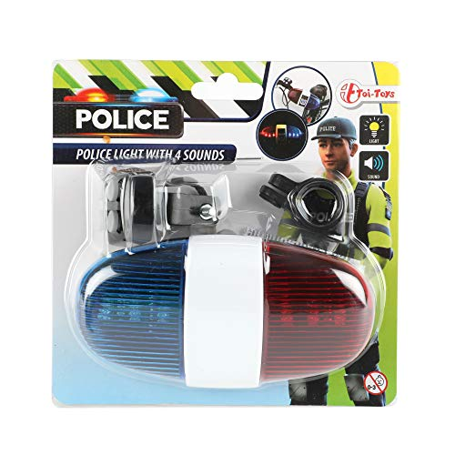 xtrafast Polizei Sirene mit 4 Tönen Rot Blau