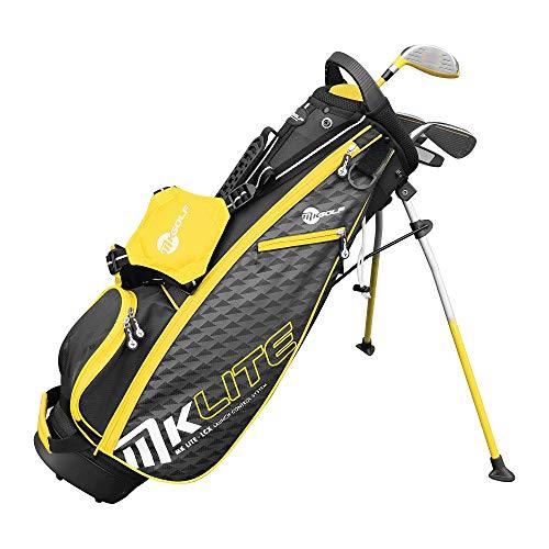 Mkids Junior Lite mezzo pacchetto set Juniors RH giallo, altezza 114,3cm.