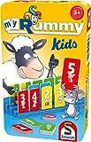 Schmidt Spiele 51439 MyRummy® Kids, Bring Mich mit Spiel in der Metalldose