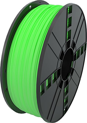 MG Chemicals Glow in the Dark - Green ABS 3D Printer Filament, 2.85 mm, 1 kg Spool