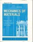 Mechanics of Materials (Chapters 4-11) Lehigh University