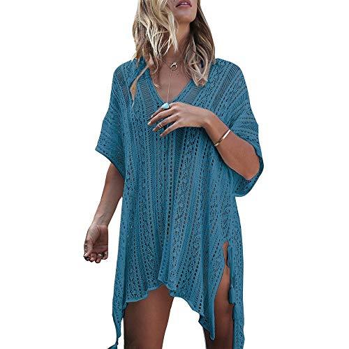 WLXP Beach Dress Perspective Cover Dresses Bikini Cover-ups Net Coverups Women
