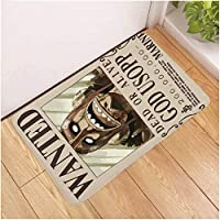 漫画海贼王地垫 玄关地垫 室外 屋内 防滑加工 室外通用-Photo_Color_60X90CM