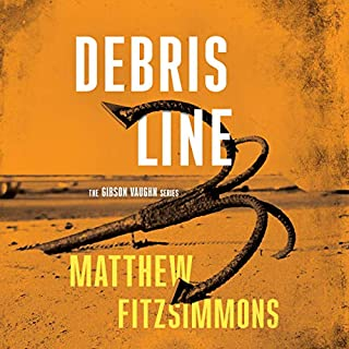 Debris Line audiobook cover art