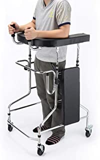 Elderly walker Adjustable Lightweight and Portable Can sit and Move Walking and Standing Standing Frame for Obstacle Elderly walker