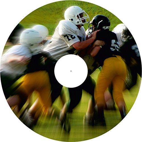 Rollstuhl - Speichenschutz - Sport Motive (Preis pro Paar) (Design Rugby, 24 Zoll inkl. Clipverschluss)