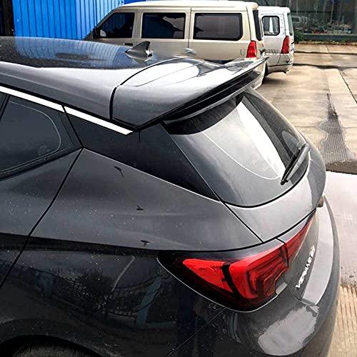 ZHANGDAN Alerón Trasero del Alerón del Labio del Techo del Maletero Trasero del ABS para Opel Astra K 2015 2016 2017 2018, Accesorios de Estilo de la Modificación del Coche