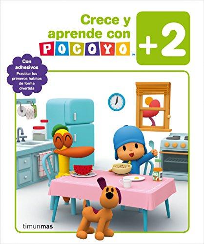 Crece y aprende con Pocoyó +2: Con adhesivos. Practica tus primeros hábitos de forma divertida (Pocoyo)