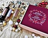 Coffret Cadeau Vins Noël'Couronne' (Anglais) + 3 bouteilles de Minuty Prestige Rosé et Rouge et Blanc