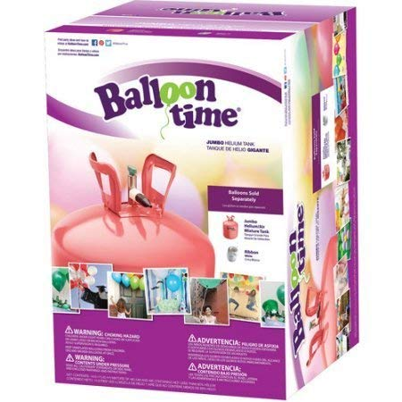 Balloon Time Jumbo 12' Helium Tank Blend Kit (18X16X12)