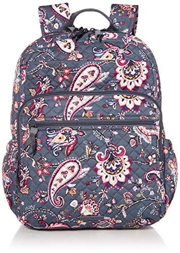 Vera Bradley Cotton XL Campus Backpack, Felicity Paisley