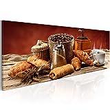 murando - Bilder Küche Kaffee 120x40 cm Vlies Leinwandbild
