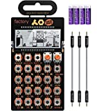 Teenage Engineering PO-16 Pocket Operator Factory Lead and Chord Synthesizer Bundle with B...