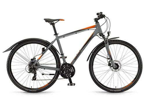 Winora Mountain Bikes Vatoa Herren 28'' 21-G TX800 18 Winora Grey/Black/orange 46