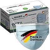 Medizinische Op Masken MADE IN GERMANY Typ IIR CE Zertifiziert DIN EN 14683 40 Stück Mundschutz Masken Einwegmaske Gesichtsmaske Schutzmaske