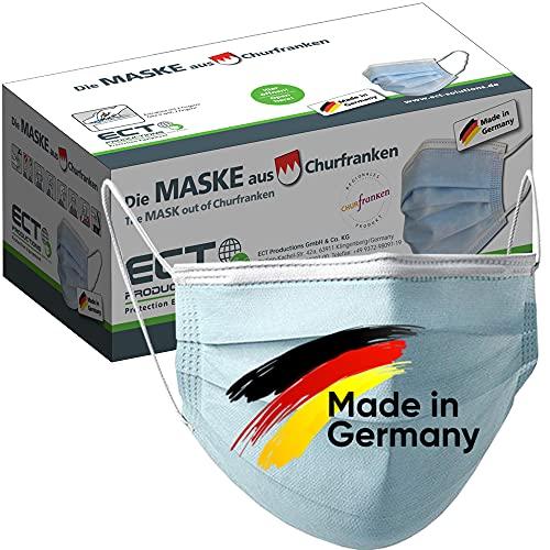 Medizinische Op Masken (MADE IN GERMANY) Typ IIR (CE Zertifiziert) DIN EN 14683 (40 Stück) Mundschutz Masken Einwegmaske Gesichtsmaske Schutzmaske