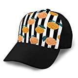 dsgdfhfgjghcdvdf Gorras de béisbol, Sombreros Militares, Sombreros de papá para el día del Padre, Regalo de Acción de Gracias Manzanas orgánicas patrón sin Costuras en Rayas Sombrero de Vaquero