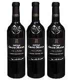 Grès de Boutenac 2014 - Grand Vin des Corbières Rouge - Mourvèdre Carignan - Lot de 3