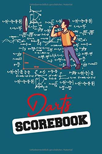 Darts Scorebook - Scoreboard für 100 Cricket Partien: 6x9 Darts Scorebook, Spielblock fuer 100 Dartpartien + Dart Out Chart um deinen Sieg einfach zu ... Dein optimaler Dartzaehler von Darts Fire.