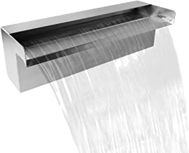 pool water feature blades