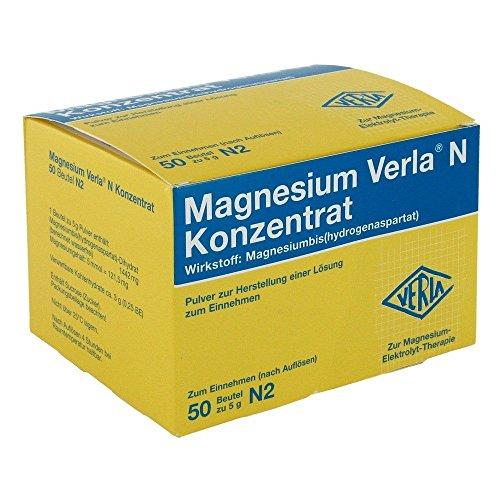 Magnesium Verla N Konzentrat Pulver, 50 St. Beutel