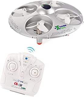 Fytoo CX-31 2.4G 4-axis Headless Mode RC Four-axis UFO Aircraft Remote Control Drone Silver