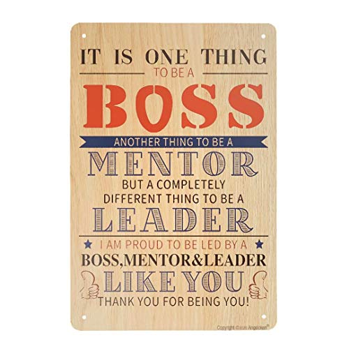 ZMKDLL Vintage Tin Sign It is One Thing to Be A Boss Sign Metal Sign for Plaque Poster Cafe Home Bar Coffee Wall Art Gift 11.8 X 7.8 INCH