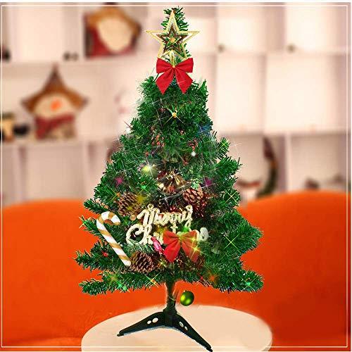 Dream Loom Small Christmas Tree, 24'/60cm Tabletop Christmas Tree, Mini Artificial Green Xmas Pine Tree for Home Decor (Green)