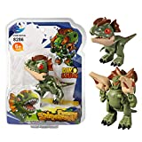 Weelth Funny for Deformation Dinosaur Small Toy for Kids (Dilophosaurus/Green)