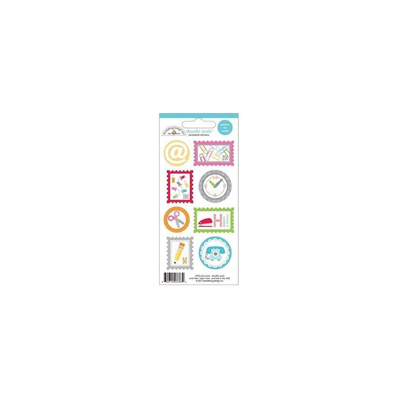 DOODLEBUG Take Note Doodles Cardstock Stickers 3