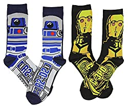 Best Star Wars Gift Ideas featured by top US Disney blogger, Marcie and the Mouse: Star Wars socks