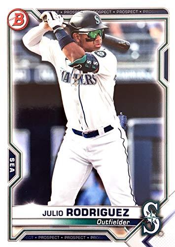 2021 Bowman Prospect #BP-86 Julio Rodriguez