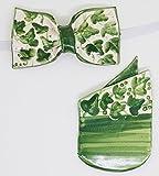 Papillon + Pochette in Ceramica Linea Edera Pezzo Unico Handmade Le Ceramiche del Castello Made in Italy