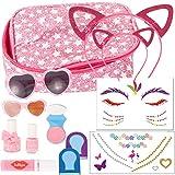 Gotz 3403049 Mini Me X-Snails Set de Maquillaje para muñecas - Accesorios para el Maquillaje y el Styling - Set de Styling de 14 Piezas para muñecas de pie y Cabezales de Maquillaje