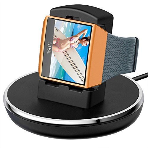 Compatible with Fitbit Ionic Charger, EPULY Accessories Women Men Charging Cable/Stand/Dock/Station...